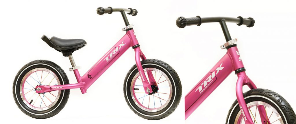 "Беговел TRIX /диаметр колес:12""/рама:алюминий/обода:алюминий/цвет:фиолетовый/"
